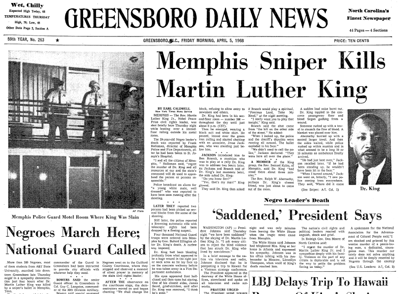 martin luther king jr speeches on paper
